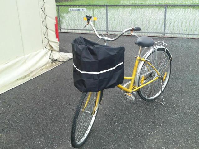 雨や埃からあなたの荷物を守ります。自転車用安全バスケットカバー