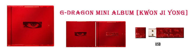 G-DRAGON Mini Album