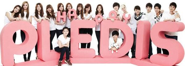 Pledis Entertainmentファミリー