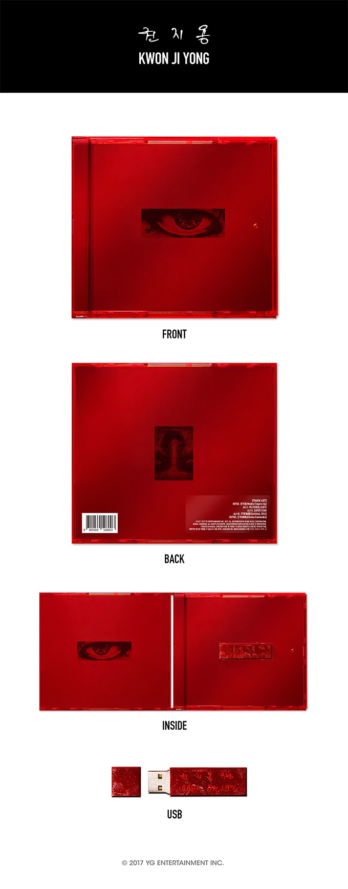 【BIGBANG】ビックバン G-DRAGON [KWON JI YONG] MIni Album