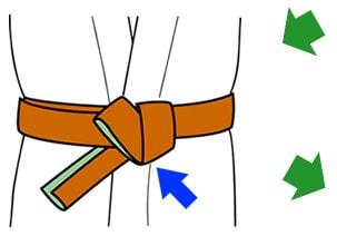 帯の結び方【貝の口】9