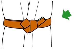 帯の結び方【貝の口】11