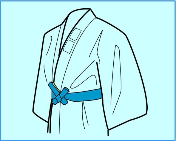 帯の結び方【神田結び】 完成図
