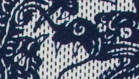 龍と波の紋章:拡大画像