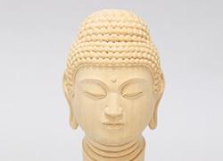 こころの仏像彫刻「初級編」仏頭 阿弥陀如来