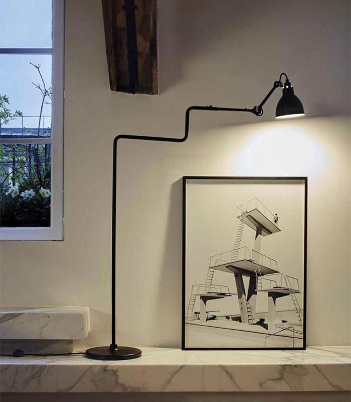 LAMPE GRAS LAMPADAIRE No.411