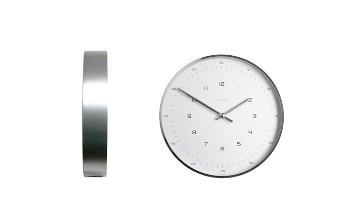 Max Bill Wall Clock Line