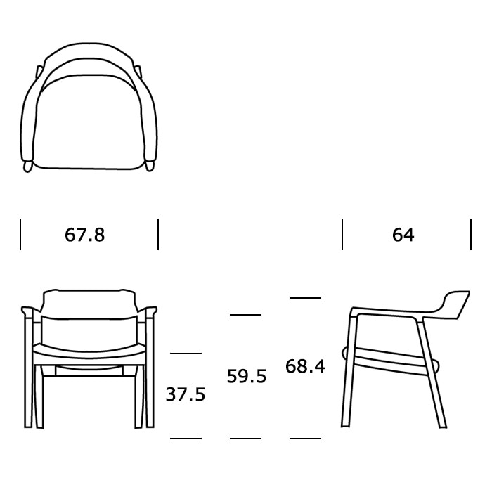maruni loungechairサイズ