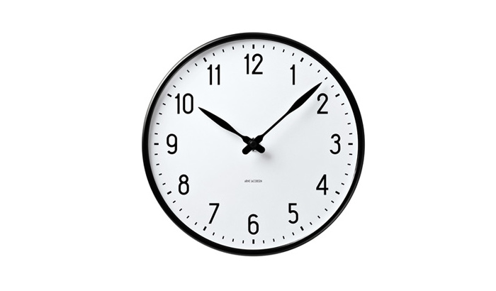 Arne Jacobsen Wall Clock Roman