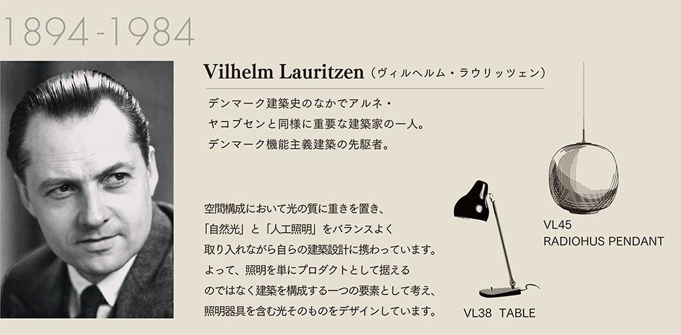Vilhelm Lauritzen(ヴィルヘルム・ラウリッツェン)