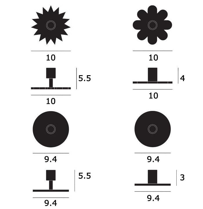 Candle Holders(キャンドルホルダー)サイズ