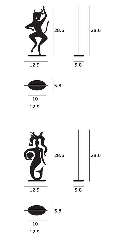 Silhouettes(シルエット)サイズ