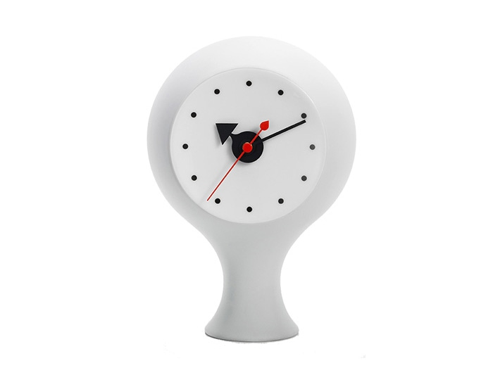 Ceramic Clock Model 1(Light Grey/Blue)