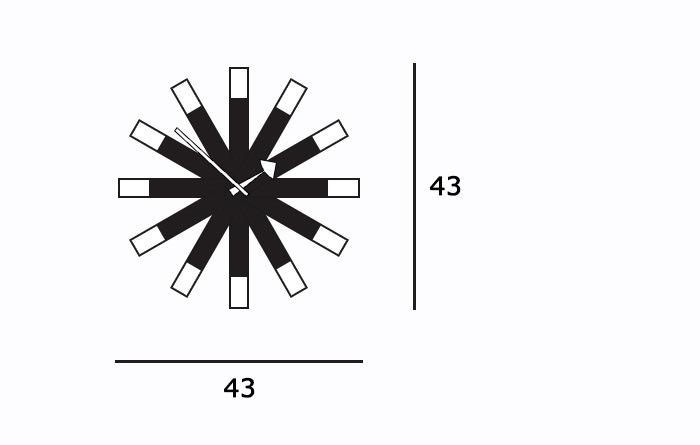 Wheel Clockサイズ