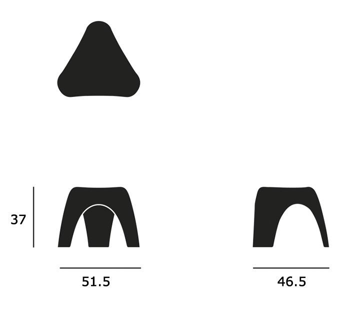 Elephant Stoolサイズ