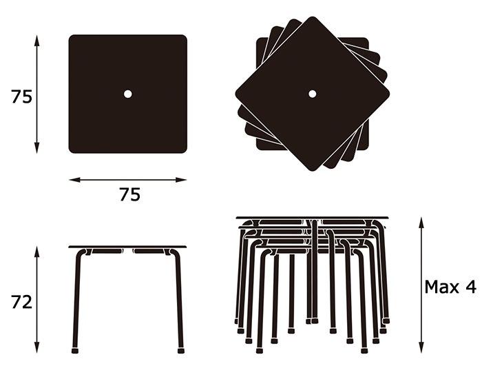 Davy Tableサイズ