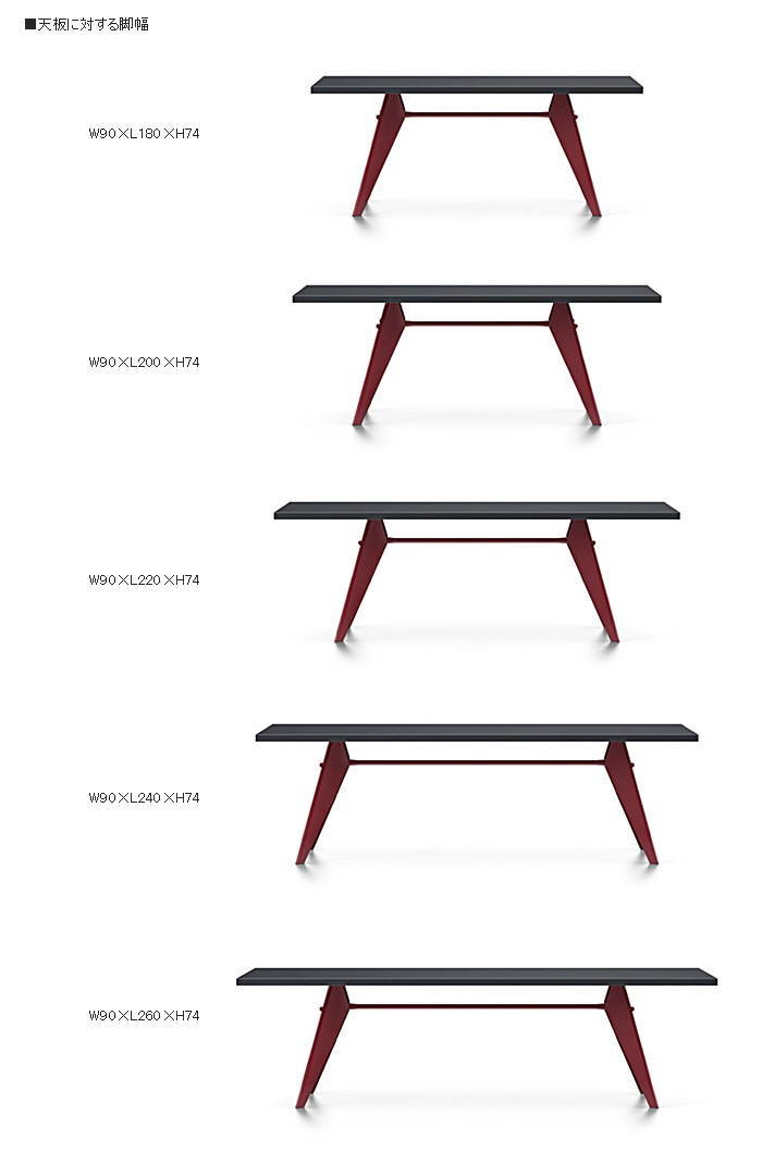 EM Table HPLサイズ
