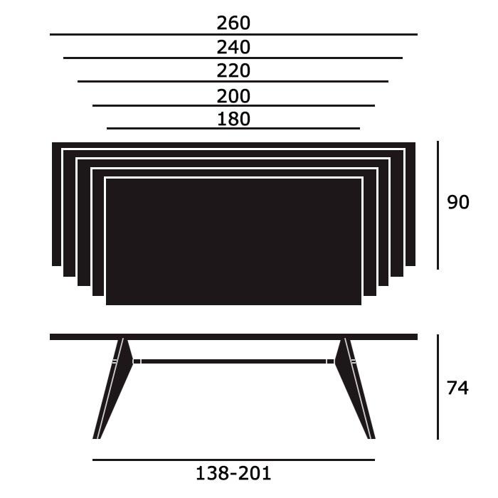 EM Tableサイズ