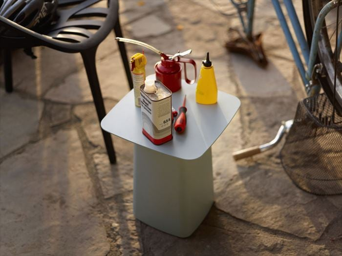 Metal Side Table Outdoor