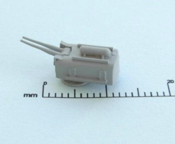 【新製品】ZW7008U)米海軍 6インチ53口径152mm連装砲