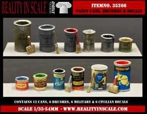 【新製品】35266)塗料缶セット