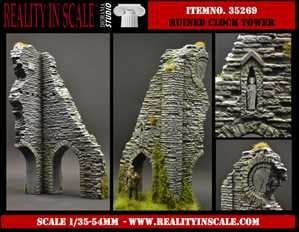 【新製品】35269)時計塔の廃墟