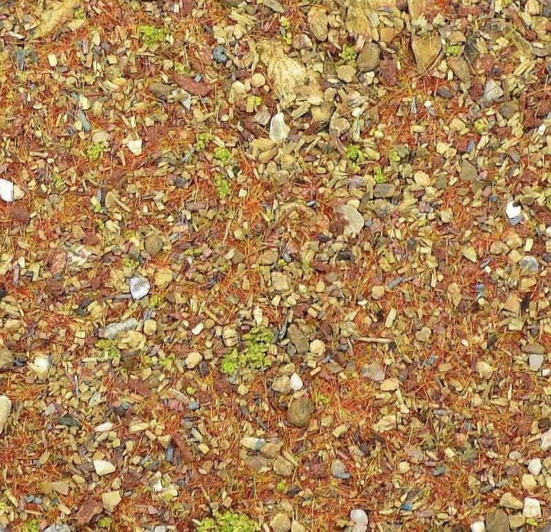 【新製品】DET09)地面素材セット(焼けついた砂漠)