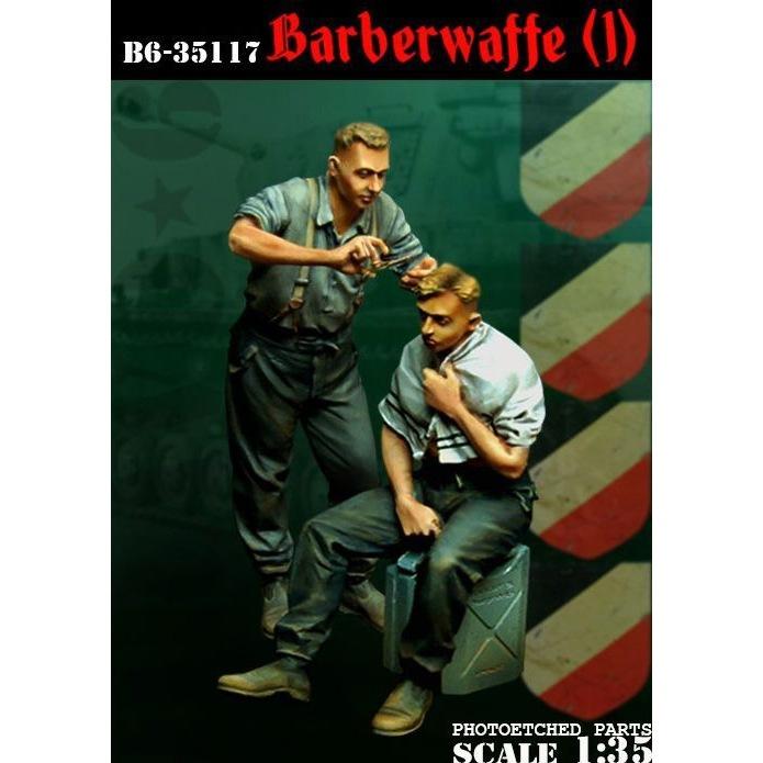 【新製品】35117)WWII 独 散髪する戦車兵(1)(2体セット)