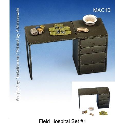 【新製品】MAC10)野戦病院アクセサリーセット #1