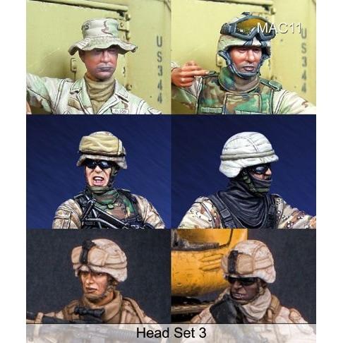 【新製品】MAC11)ヘッドセット 3 現用米兵