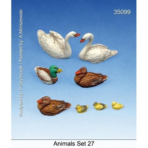 【新製品】35099)動物セット27 水鳥