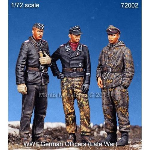 【新製品】72002)WWII 独 武装親衛隊戦車兵セット(3体セット)