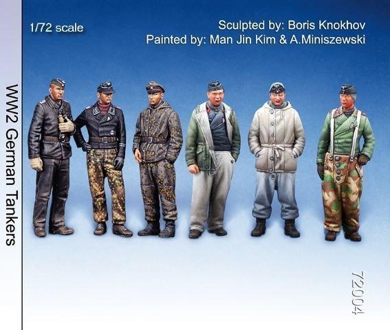 【新製品】72004)WWII 独 戦車兵バリューセット(6体セット)