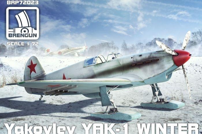【新製品】BRP72023)ヤコブレフ Yak-1 戦闘機 冬季装備