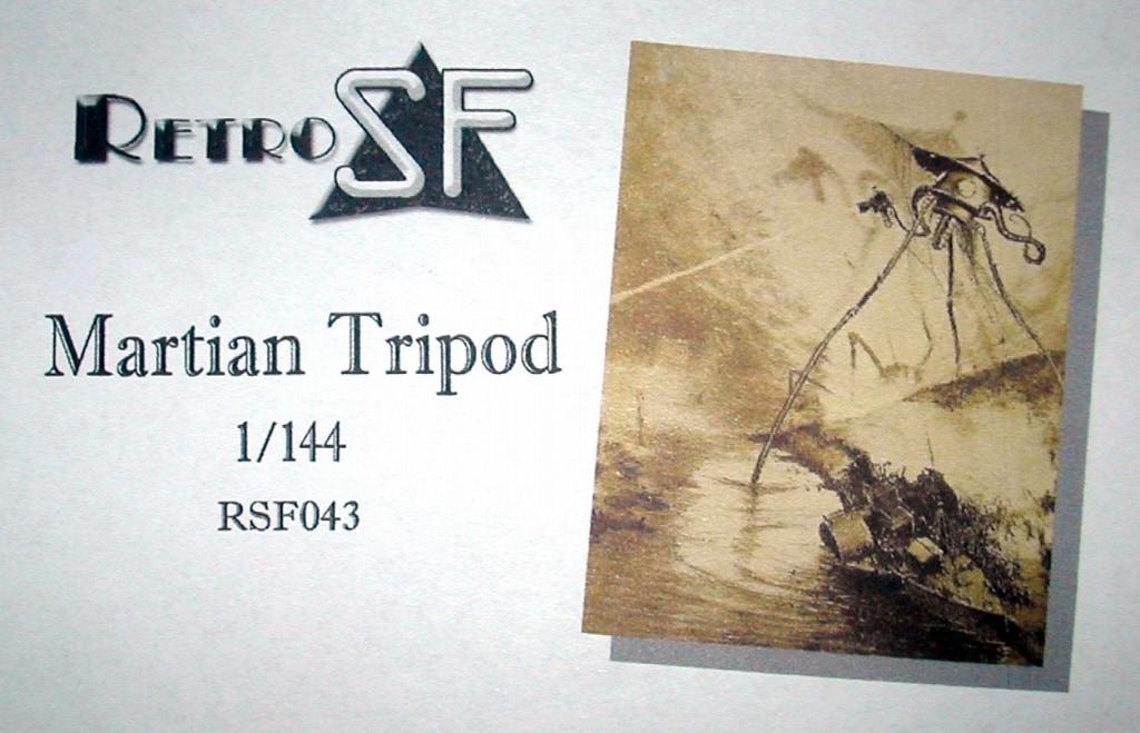 【新製品】RSF043)宇宙戦争 マーシャンズ・トライポッド