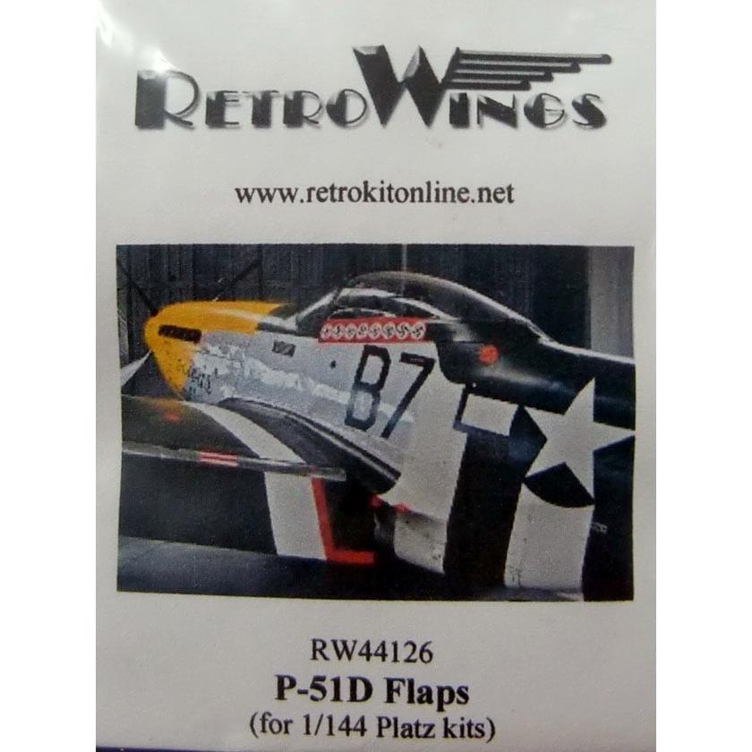 【新製品】RW44126)P-51D フラップ