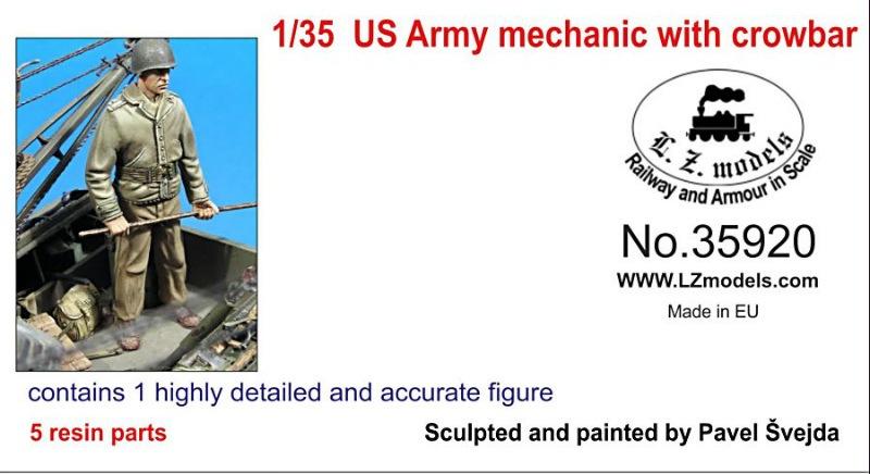 【新製品】LZ35920)WWII 米 カナテコを持つメカニック