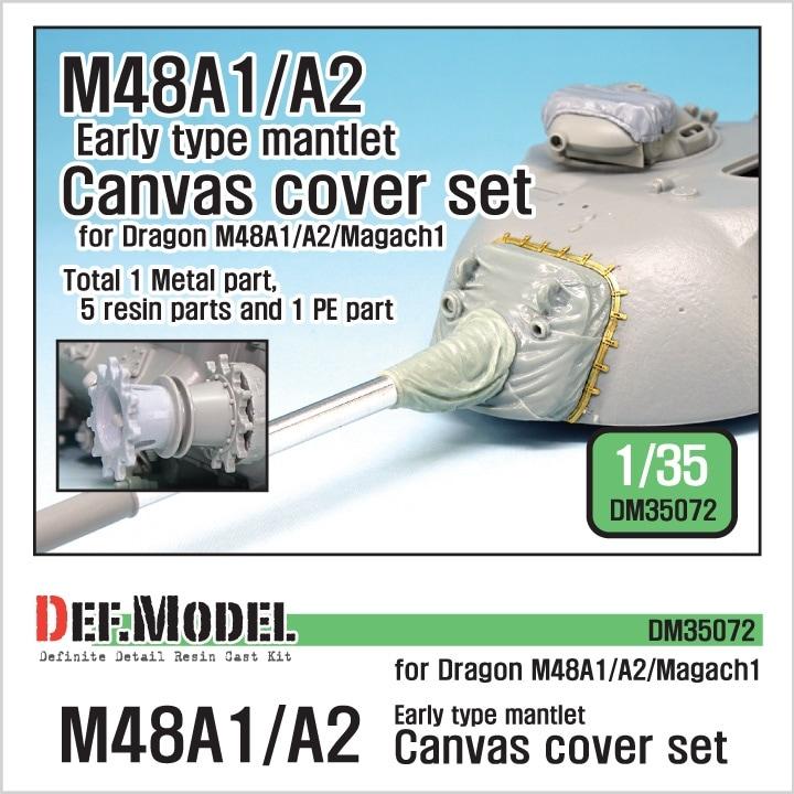 【新製品】DM35072)M48A1/M48A2/マガフ1 キャンバスカバーセット