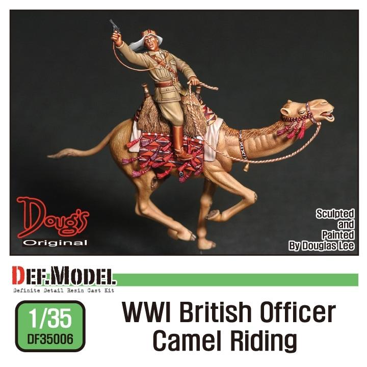 【新製品】DF35006)WWI ラクダに乗る英軍オフィサー