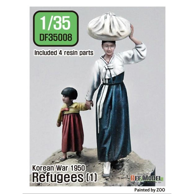 【新製品】DF35008)朝鮮戦争1950/51 難民セット(1)