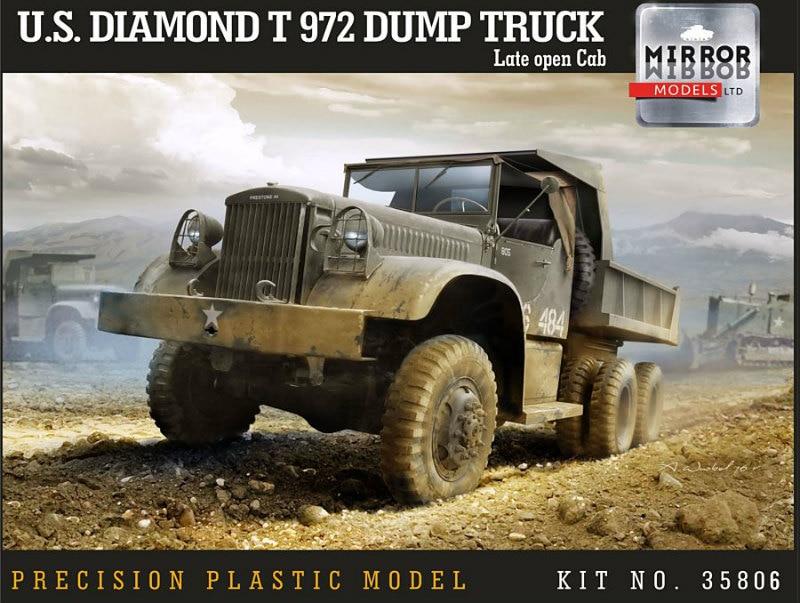 【新製品】35806)ダイアモンド T972 ダンプトラック オープンキャブ