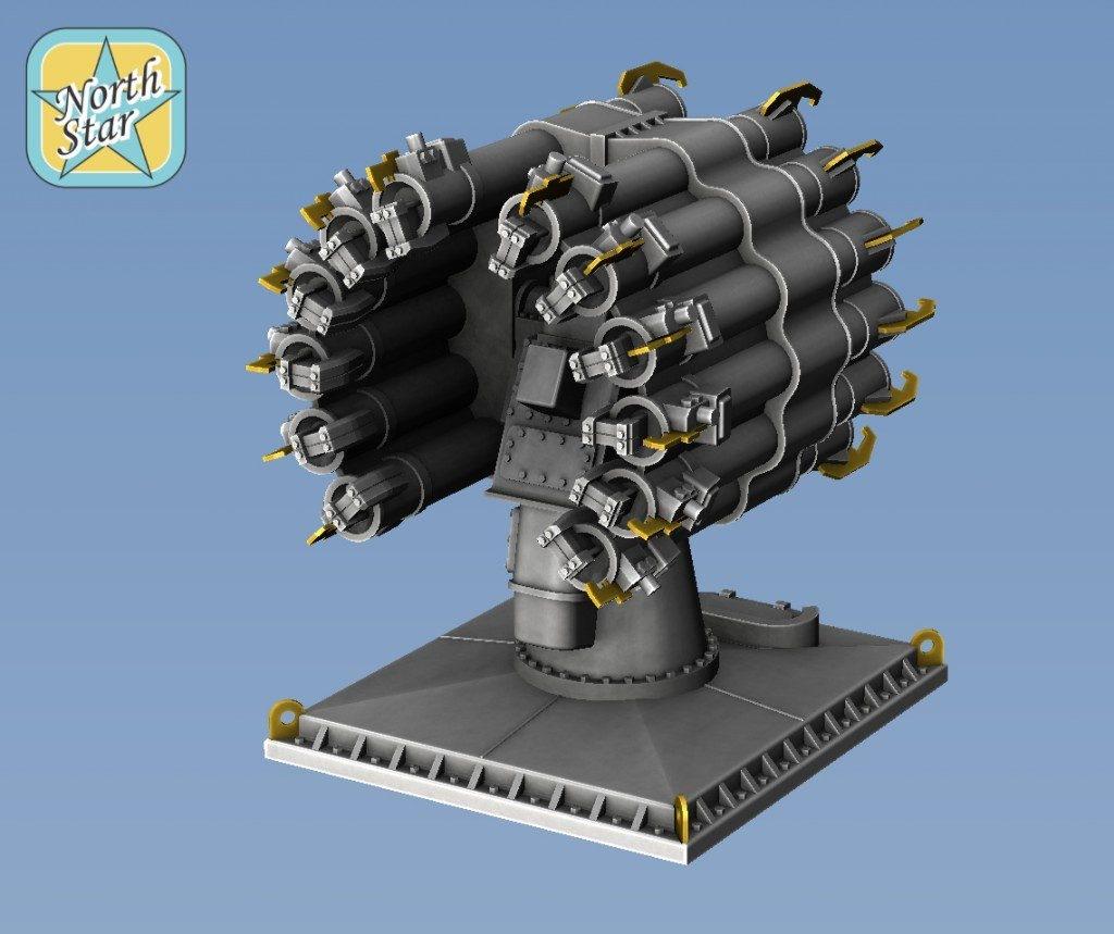 【新製品】NSA350153)ソ連海軍 RBU-6000 スメルチ2 対潜迫撃砲