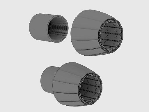 【新製品】72112)F/A-18E/F スーパーホーネット F-414排気管