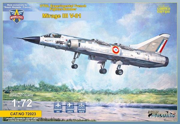 【新製品】72023)ミラージュ III V-01