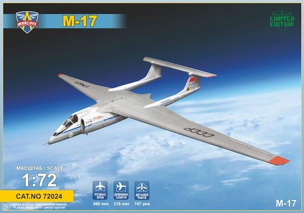 【新製品】72024)ミャスィーシチェフ M-17 高高度戦略偵察機
