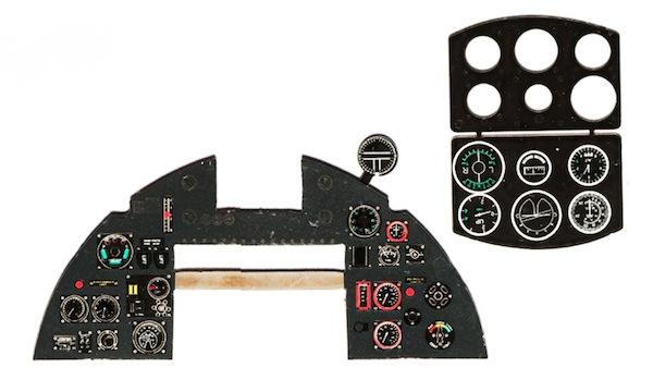 【新製品】YMA2405)ホーカー タイフーン Mk.I 後期型 計器盤