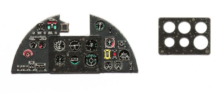 【新製品】YMA3206)ホーカー ハリケーン Mk.II 計器盤