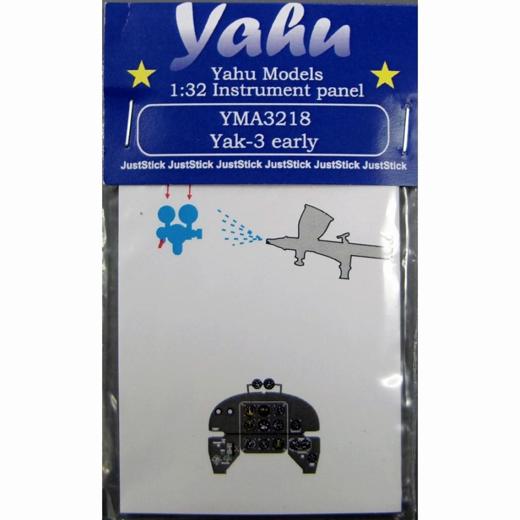 【新製品】YMA3218)ヤコブレフ Yak-3 初期型 計器盤