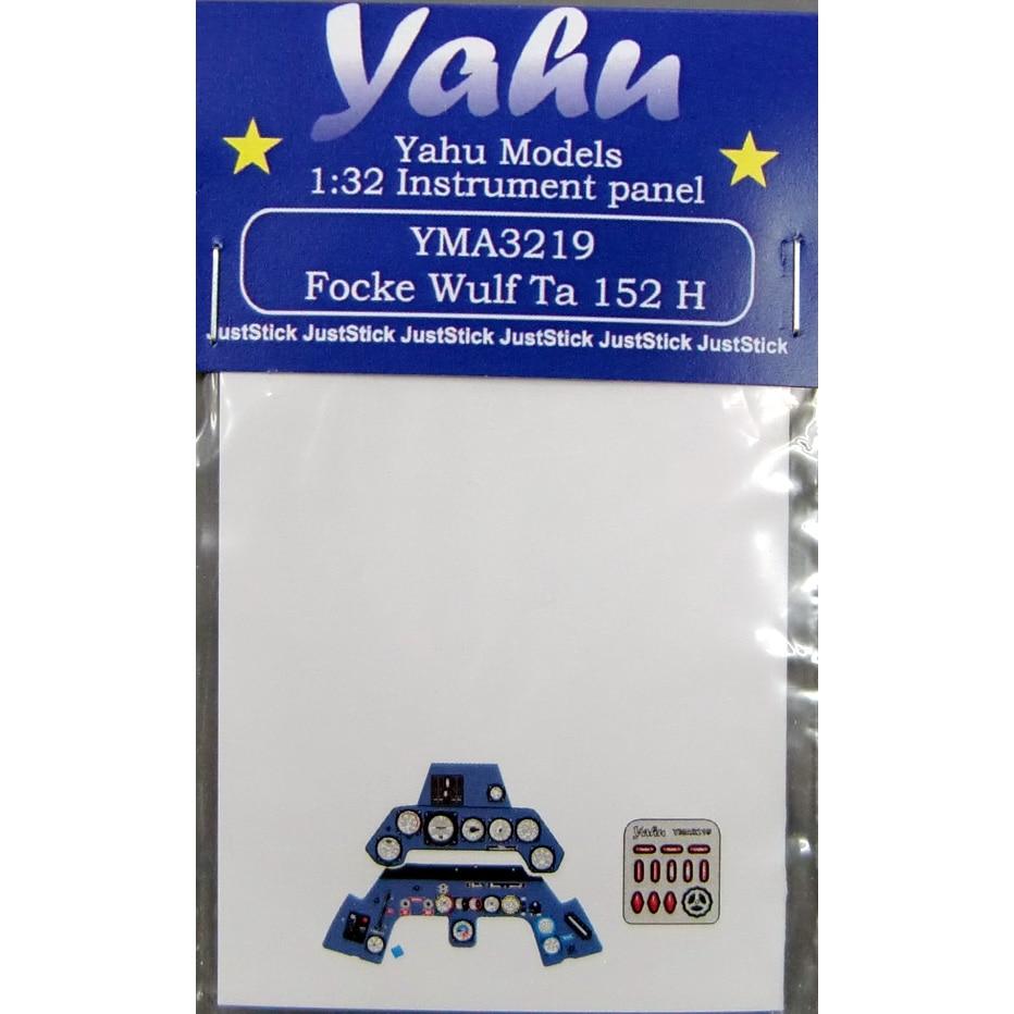 【新製品】YMA3219)フォッケウルフ Ta152H 計器盤