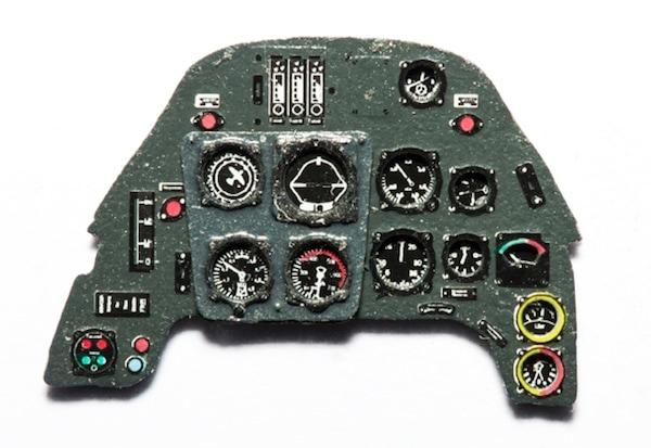 【新製品】YMA4821)メッサーシュミット Bf109G 計器盤
